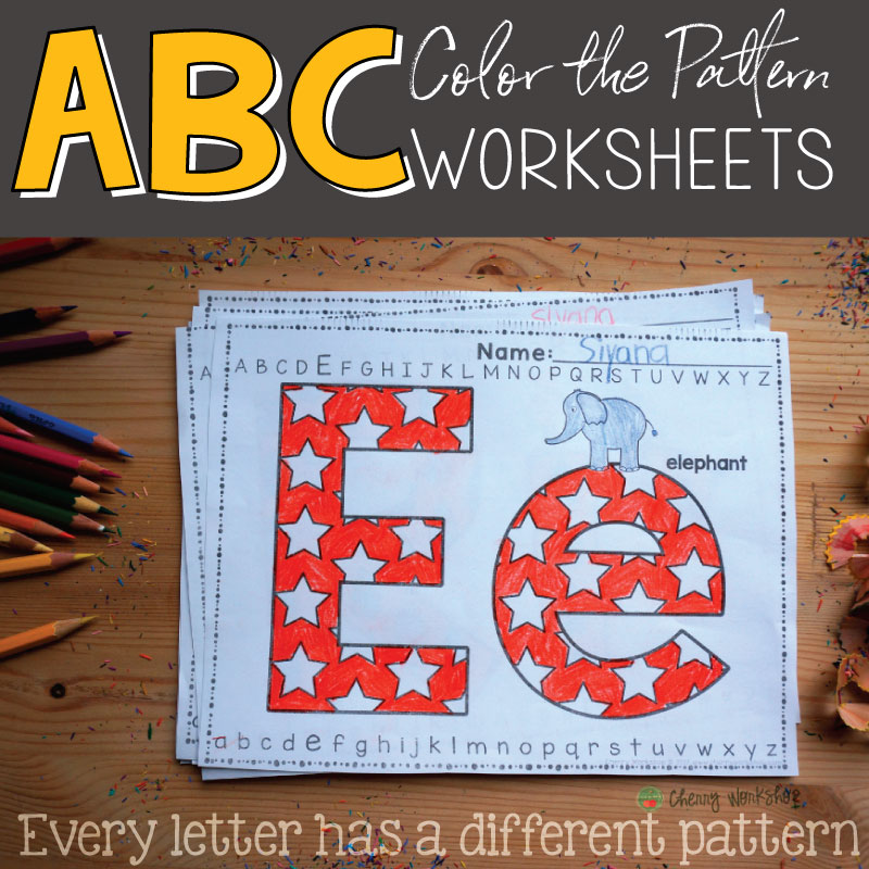 letter coloring worksheets