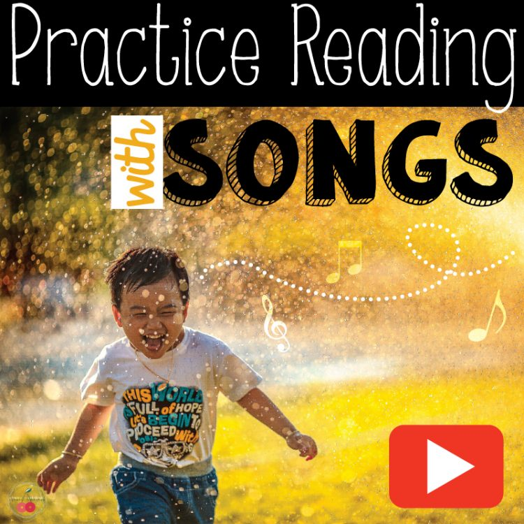 teach reading with songs