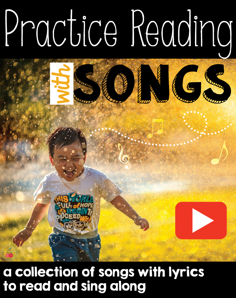 teaching reading with songs